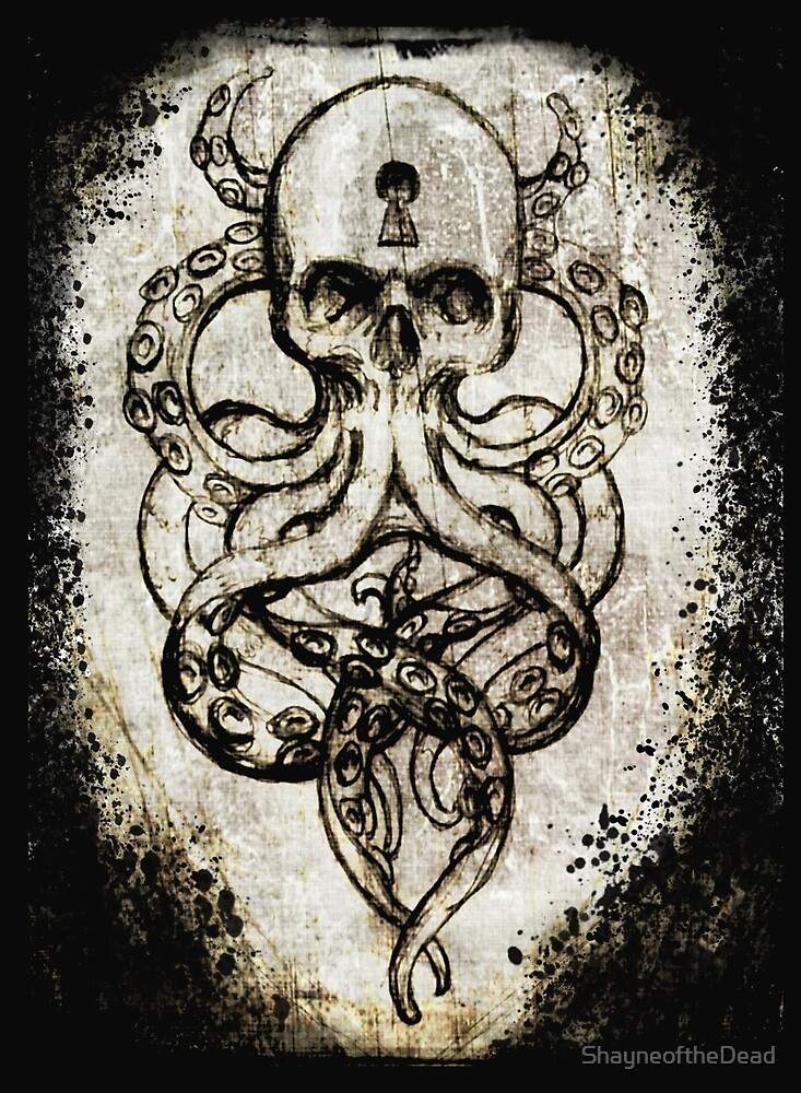 Cthulu Tentacles by ShayneoftheDead