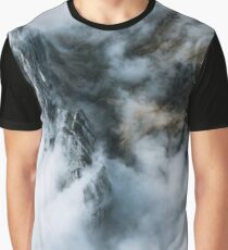 Sea of Clouds. And a Mountain - Landscape Photography Graphic T-Shirt