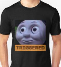 Triggered Thomas The Train meme Unisex T-Shirt