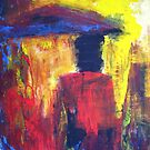 Have You Ever Seen the Rain, Creedence, original Abstract by Dmitri Matkovsky