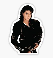 Michael Jackson - Bad Album Cover (Sticker) Sticker