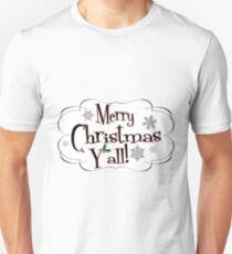Merry Christmas Y'all T-Shirt