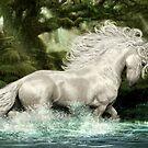 Wistman's Unicorn by Susan Schroder Arts