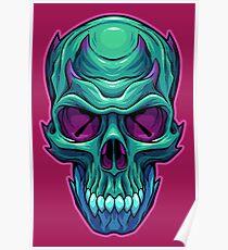 Horned Bone Poster