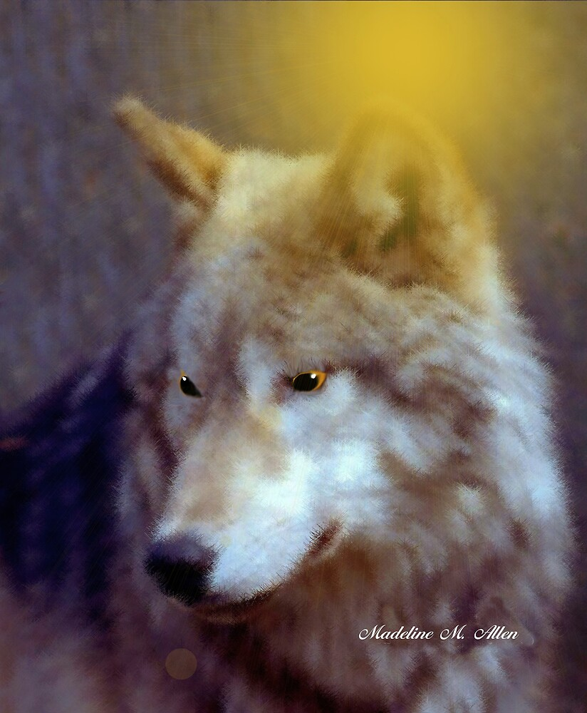 WOLF ~ PROTECTOR by Madeline M  Allen