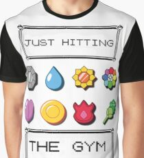 0adf3d14 Pokemon hitting the gym Graphic T-Shirt