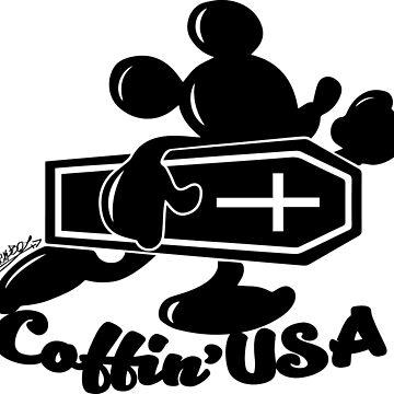 Coffin'USA by sick-boy
