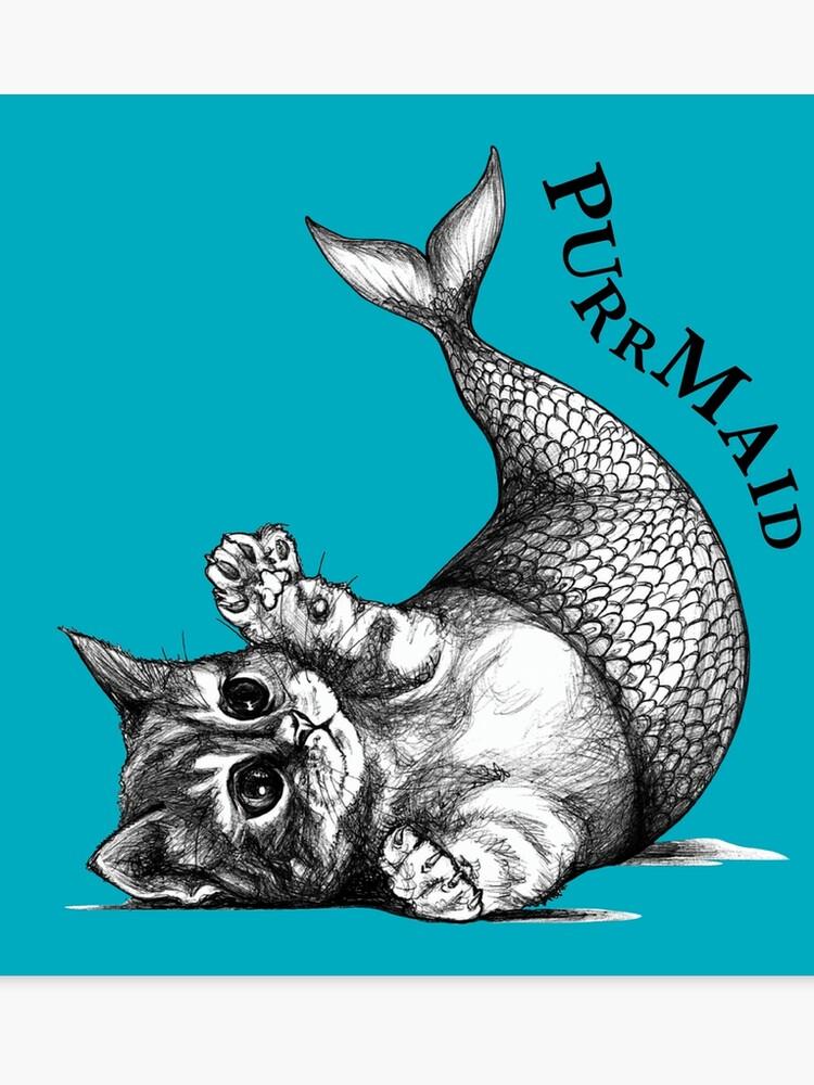 71ba29ec8 Purrmaid, Cat + Mermaid Hybrid Animal