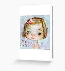 My Joy Greeting Card