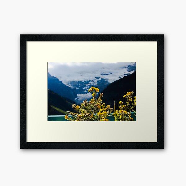 Mountain sunshine Framed Art Print