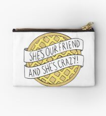 """She's our friend, and she's crazy!"" / Stranger Things Studio Pouch"