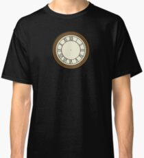 Back to the future Clock Classic T-Shirt