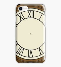 Back to the future Clock iPhone Case/Skin