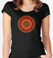 Happi Mandala 33 Women's Fitted Scoop T-Shirt