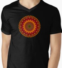 Happi Mandala 33 Men's V-Neck T-Shirt