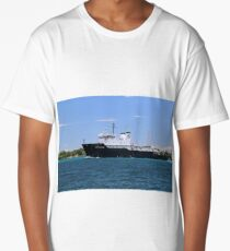 State of Michigan Training Vessel Long T-Shirt