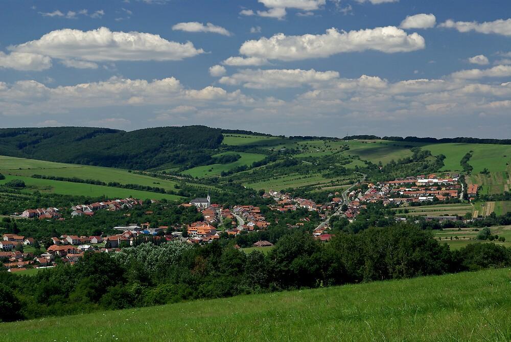 My home town Strani 1, Czech Republic by ludek