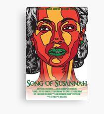 Song of Susannah poster Canvas Print