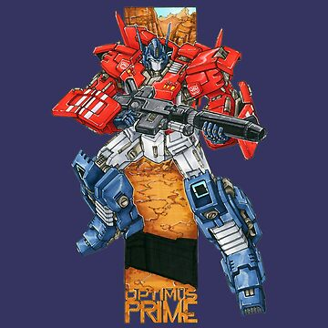 Optimus Prime by RandyMax