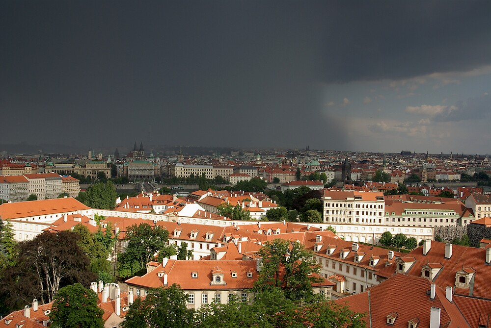 Before the storm, Prague by ludek