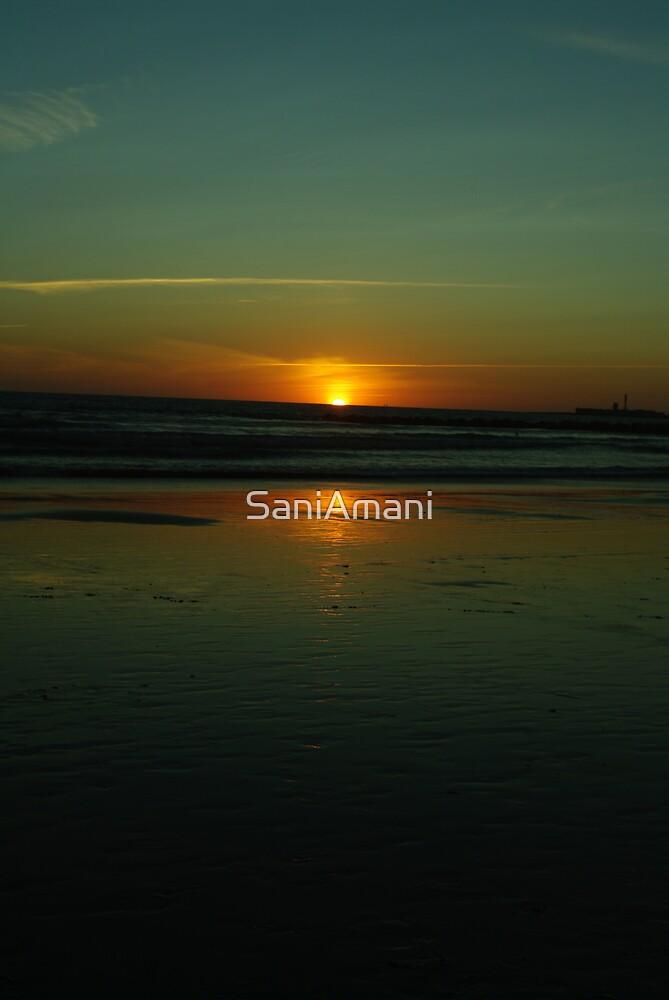 Cadiz Sunset by SaniAmani