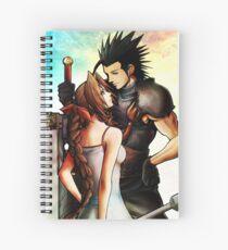 Zack Fair / Aeris Gainsborough Spiral Notebook