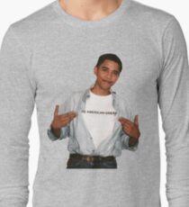 Young Barack Obama  Long Sleeve T-Shirt