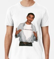 Young Barack Obama  Men's Premium T-Shirt