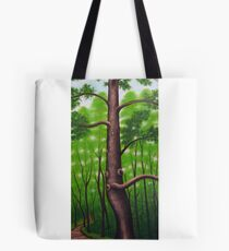 The Grandfather Tree Tote Bag