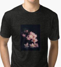 Pink frangipanis Tri-blend T-Shirt