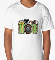 Vintage film camera  Long T-Shirt