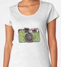 Vintage film camera  Women's Premium T-Shirt