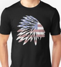 NAtive American Flag  T-Shirt