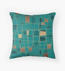 Abstract geometric pattern 11 Throw Pillow
