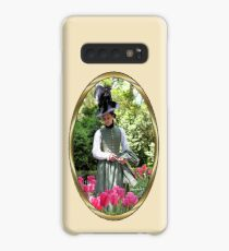 A Colonial Lady in Her Garden Case/Skin for Samsung Galaxy