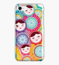 dolls matryoshka iPhone Case/Skin