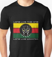 Black Panther Wakanda Flag T-Shirt