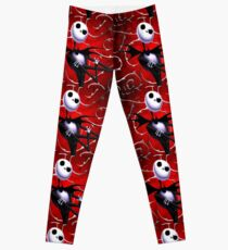 Jack Skellington in red Leggings