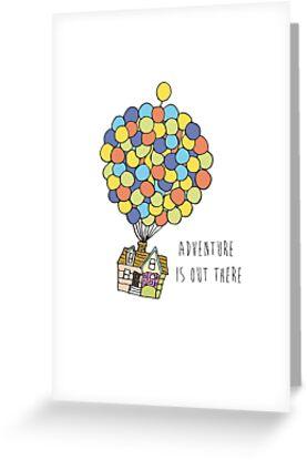«La aventura está ahí fuera» de abbykanary