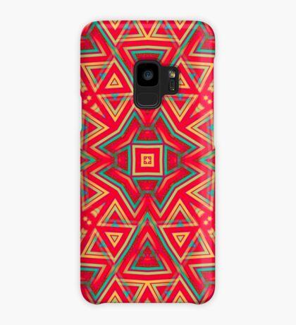 Orange Yellow   Geometric Pattern series Case/Skin for Samsung Galaxy