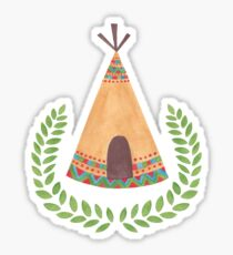 Tipi Sticker