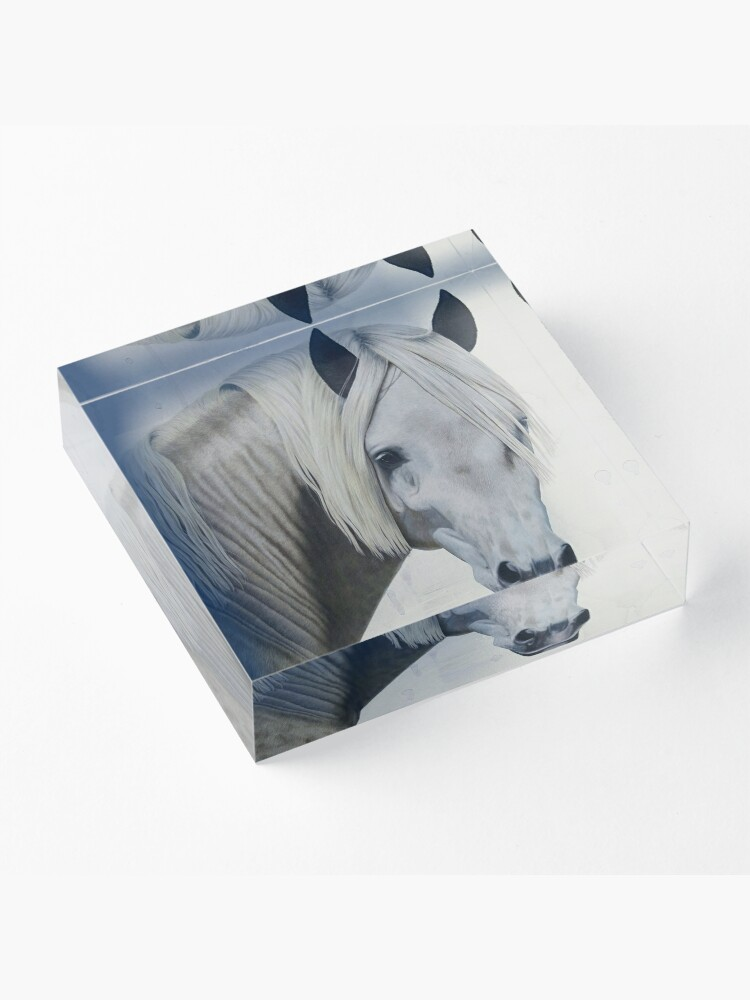 Alternate view of Andalusian Horse Acrylic Block