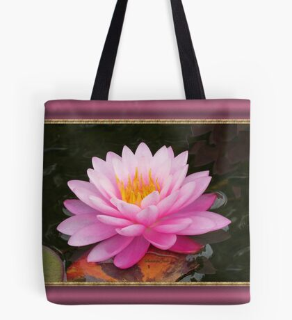 Beauty in the Water Garden Tote Bag