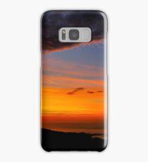 Sunset over the Atlantic - Glencolmcille, Ireland Samsung Galaxy Case/Skin