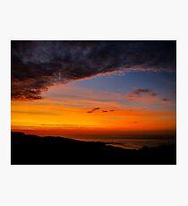 Sunset over the Atlantic - Glencolmcille, Ireland Photographic Print