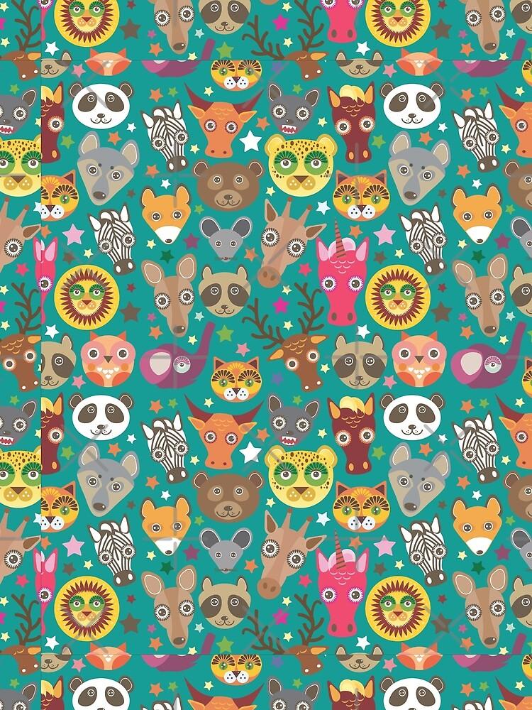 funny animals muzzle by EkaterinaP
