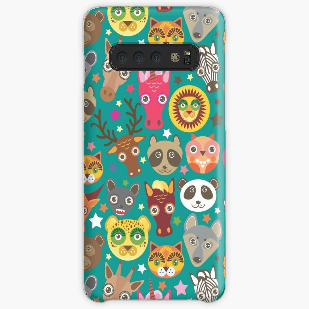funny animals muzzle Case & Skin for Samsung Galaxy