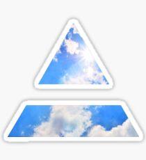 30 second to mars logo Sticker