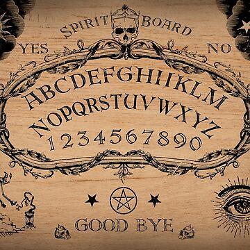Spirit Board by mavisshelton