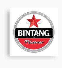 Bintang Beer Merchandise Canvas Print